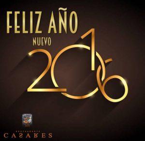 feliz 2016 CASARES
