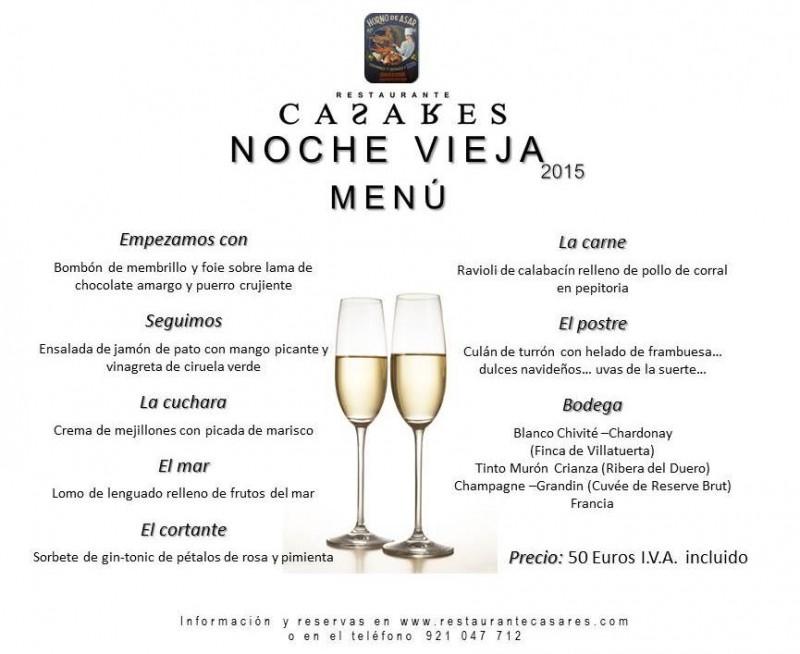 menu nochevieja 2015 redes sociales
