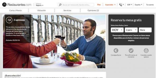 restaurantes.com restaurante casares