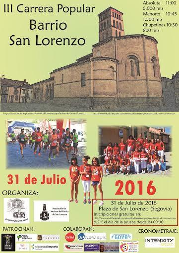 III Carrera de San Lorenzo 2016