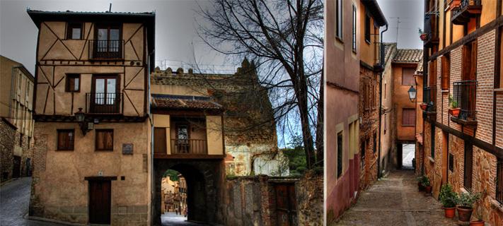 Resultado de imagen de Barrio de la Judería segovia