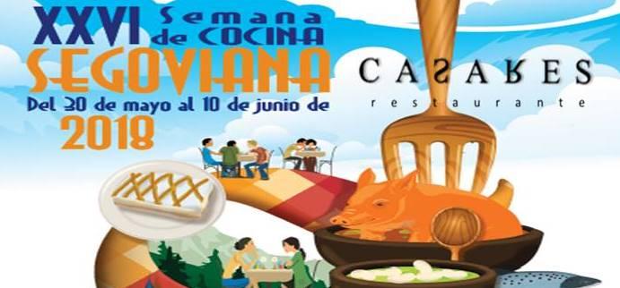 Vuelve la Semana de la Cocina Segoviana