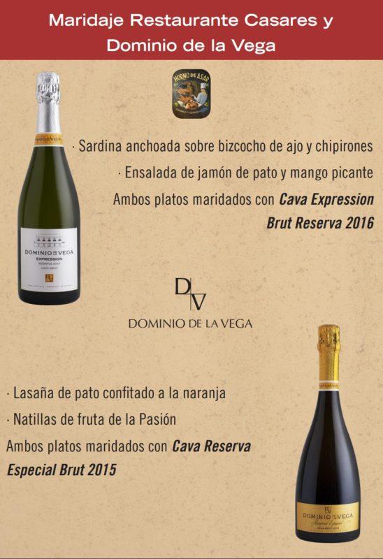 Cena Dominio de la Vega